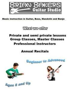 Guitar Lessons with Brian Baker
