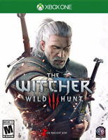 The Witcher XboxONE 39.95$ et beaucoup d'autre titre à vendre!