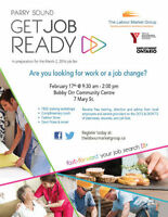 "Parry Sound Job Seekers: Are You ""Job Ready""?"