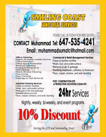 Smiling coast janitorial services