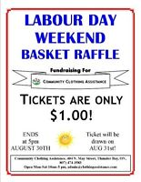 Labour Day Raffle Fundraiser