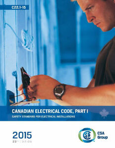 2015 Canadian Electrical Code, Part 1 (23rd Edition)