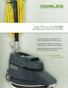 Nobles - Electric Floor Burnisher/Polisher