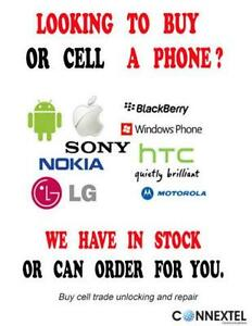 New Cell / Smart  phones  from 99$ all carriers wind w/warranty