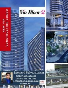 VIA BLOOR 2 for sale - pre constructed units ! Toronto city life