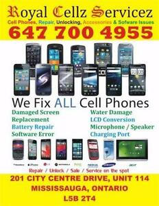 ONE STOP SHOP - ON SPOT CELL PHONE REPAIR MISSISSAUGA FIX PHONE