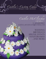 Caitlins Custom Cakes, Cupcakes and Cookies