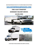 $45+ Trucks for Hire:  CITY WIDE EXPRESS DELIVERY TRANSPORT