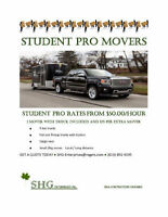 ●STUDENT PRO MOVERS●STUDENT PRO RATES● ●$45 CITYWIDE DELIVERY●●