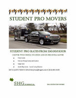 ●STUDENT PRO MOVERS●STUDENT PRO RATES● ●$49 CITYWIDE DELIVERY●●