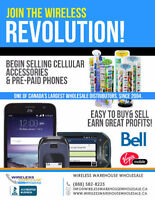 Join the Wireless Revolution - Begin Offering Pre Paid Mobile Ph