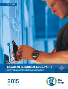 Canadian electrical code cec 2015