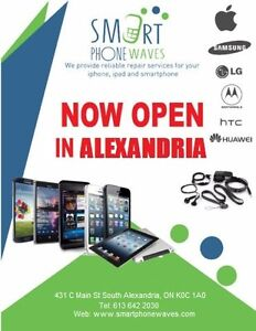 SMARTPHONE WAVES NOW OPEN IN ALEXANDRIA