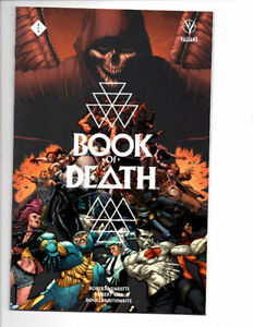 BOOK OF DEATH #1-4 NM FALL OF BLOODSHOT, NINJAK, HARBINGER X-O