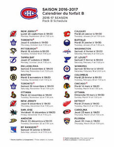 Montreal Canadians - Habs  All games