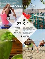 Yoga/Bootcamp Retreat in Sicily!