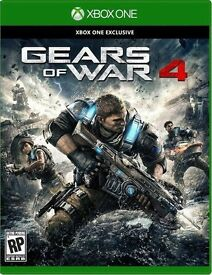 GEARS OF WAR 4 BRAND NEW SEALED £35.00 No Offers As Cex Cash is £36 voucher is £40 Comes Wth No1234