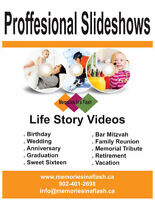 Slideshow Videos for Any Occasion Service in Halifax