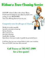 Without a Trace Cleaning service!