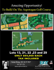 OWN YOUR PIECE OF LAND ON THE NEW GOLF RESORT - NO HST