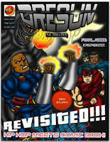 Dresun the Dreaded Graphic Comic & Cd
