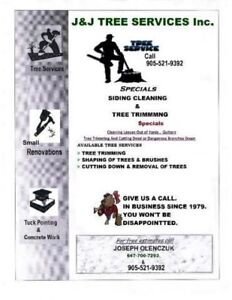Tree Trimming & Removal Services  ...  FREE Estimates !!!