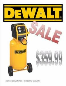 DEWALT Workshop Air compressor 15 gallon 1 Year Warranty