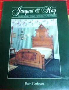 Jacques & Hay: 19th Century Toronto Furniture Makers RARE  find