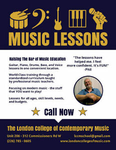 You've Never Seen Music Lessons Like This Before… London Ontario image 2