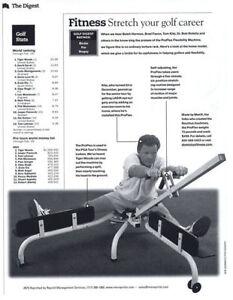 Proflex flexibility & stretching machine as used by golf pros