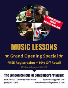 You've Never Seen Music Lessons Like This Before… London Ontario image 1