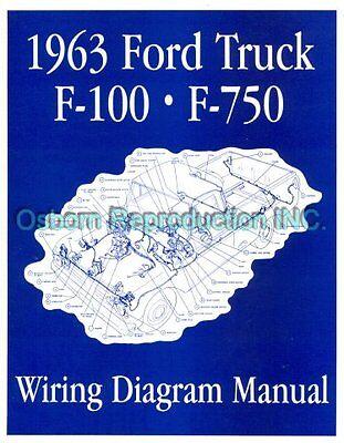 1963 Ford Truck Wiring Diagram Manual