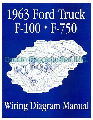 1963 Ford Truck Wiring Diagram Manual