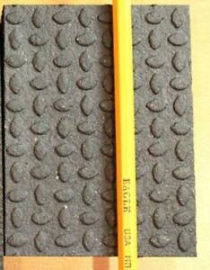 New! Revulcanized Rubber Flooring - 4 x 6 x 3/4 for Industrial and Commercial Floors