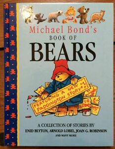 BOOK OF BEARS - 9 Bear Picture Books in 1 Hardcover Treasury $5