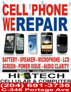 WINNIPEG MOST RELIABLE PHONE REPAIR SERVICE WITH WARRANTY
