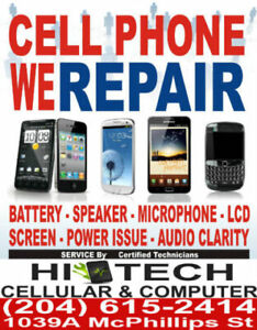 iPHONE REPAIR in WINNIPEG ★WITH THE CHEAPEST PRICE★ 204-615-2414