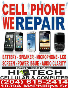 #1 WINNIPEG CELL PHONE Screen repair service centre