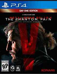 LIKE NEW METAL GEAR SOLID V PHANTOM PAIN PS4  Kitchener / Waterloo Kitchener Area image 1