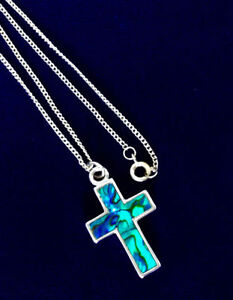 Multi-coloured Cross Necklace Kingston Kingston Area image 2