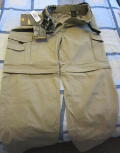Used quality clothing between 34 and 36 inch (waist) for men
