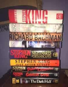 Stephen King Book Lot 9 1ST EDITION & PRINTS $69 Shipped to you