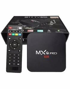 Free Delivery Installation - SAMSUNG Powered GENUINE MXQ PRO ANDROID TV BOX KODI - LIVE & ON DEMAND TV, MOVIES+