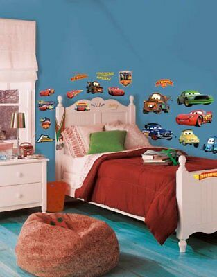 Roommates Rmk1520Scs Disney Pixar Cars Piston Cup Champs Peel  Stick Wall Decal
