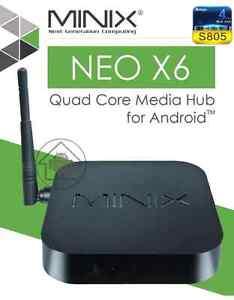 Minix X6  QUADCORE ANDROID TV BOX