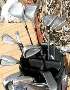 Right Hand and Left Hand Golf Sets For Sale Beginner or Teens GC
