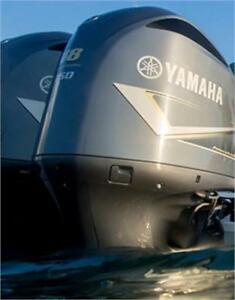 FULL LINE OF YAMAHA OUTBOARD MOTORS