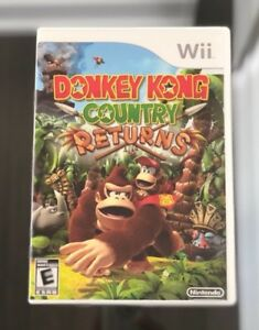 Nintendo Wii Donkey Kong Country Returns Game Near Mint Video
