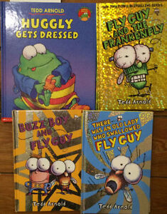 FLY GUY and more by TEDD ARNOLD $3 each or all 4 for $10