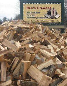 firewood hardwood softwood free delivery CALL Danny 825-6424
